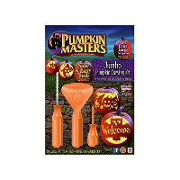 ジャンボPumpkin Carving Kit for Extra Large Pumpkins 14インチand up – オレンジ