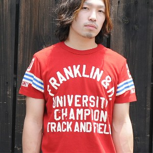 ★ネコポスOK♪【FRANKLIN MARSHALL/フランクリンマーシャル/SS】FRANKLIN CAMPION【YDKG-kd】