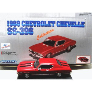 【1968】CHEVROLET CHEVELLE SS-396 RED