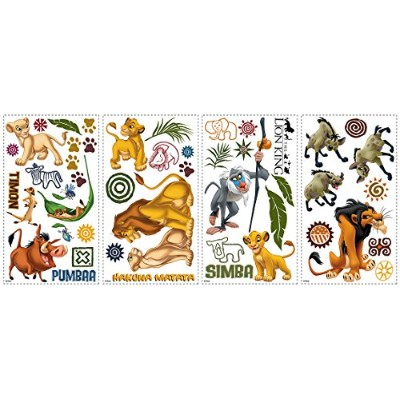 (Multi) - RoomMates AE5D06D9 The Lion King Peel & Stick Wall Decals