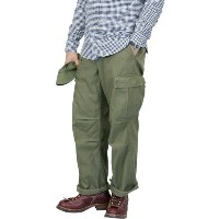 NIGEL CABOURN ナイジェル・ケーボン ARMY CARGO PANT OLIVE BACK SATIN MAIN LINE