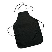 Canvas Child Black Apron by FE by Fun Express