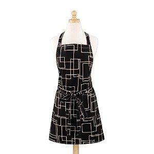 ASD Living ModernistモダンプリントButcher Apron One Size 01-528