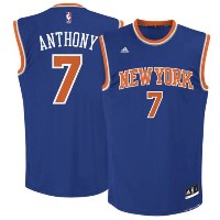 Carmelo Anthony New York Knicks adidas Replica Road Jersey メンズ Royal Blue NBA レプリカ ジャージ アディダス...