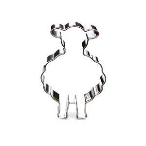 Sheep Cookie Cutter- Stainless Steel by Sweet Cookie Crumbs
