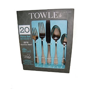 Towle Blaine 20 Piece Set Service for 4 18 / 10ステンレススチール