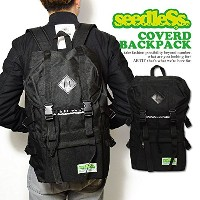 (シードレス)seedleSs COVERD BACKPACK sd16sm-bg01 BLACK FREE