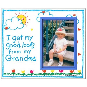 I Get My Good Looks from My Grandma - Picture Frame Gift by Expressly Yours! Photo Expressions