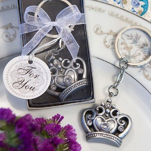 Royal Collection Crown Design Key Ring