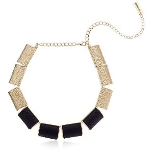 "Steve MaddenレザーBar Necklace , 16 "" + 3 "" Extender"