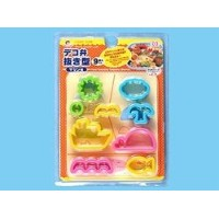 Pieces Cookie & Food Punchingテンプレート – Marine ( Colors May Vary )