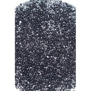 Bulk Buy: Darice DIY Crafts Toho Japanese Glass Seed Beads Opaque Black 8/0 3.1mm (3-Pack) 1953-134...