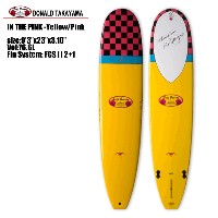 "サーフボード サーフテック DONALD TAKAYAMA IN THE PINK - Yellow/Pink 9'3"" (S101001) Surftech Surfboard【代引不可】..."