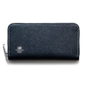Whitehouse Cox 『ホワイトハウスコックス』 正規取扱店 ジップラウンドウォレット ZIP ROUND PURSE LONDONCALF × BRIDLE S2622-NAVY/RED