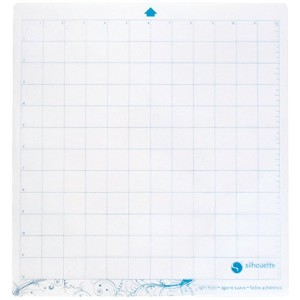 Silhouette CAMEO シルエットカメオ 低粘着カッティングマット for Scrapbooking 12 X 12インチ