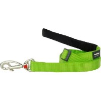Red Dingo Pet Leash, Classic Lime Green, 15mm by Red Dingo