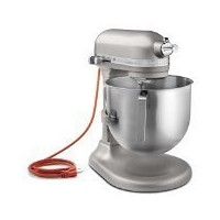 KitchenAid KSM8990NP Commercial Series NSF Certified Stand Mixer, 8-Quart, Nickel Pearl by...