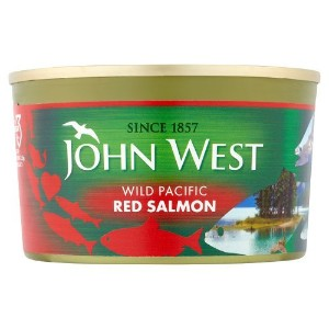 John West - Wild Pacific Red Salmon - 213g