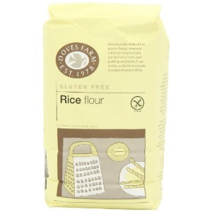 Doves Farm Gluten Free Rice Flour 1 kg (Pack of 5)