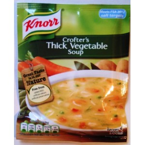 Knorr Crofter's Thick Vegetable Soup - 9 x 75g