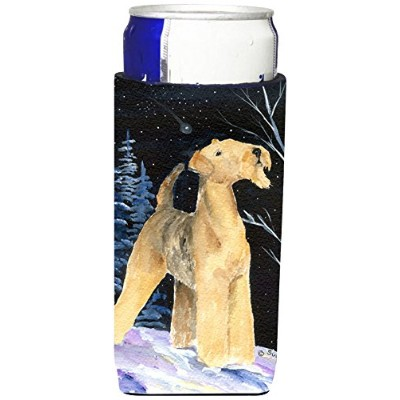 Caroline 's Treasures ss8361-parent Starry Night Airedale Ultra Beverage Insulators forスリム缶ss8361muk...