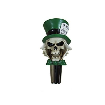 Mad Hatter Beer Tap Handle Home Bar Kegerator Zombie Skull by StribCo