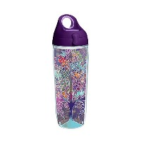 Tervis 1252295on Trend Water Bottle with Lid、24オンス、クリア