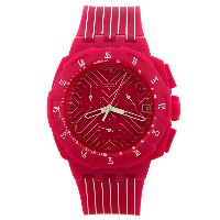 SUIP401 CHRONO PLASTIC PINK RUN SWATCH スウォッチ 時計