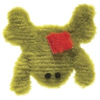 West Paw Dog Toy Doggy Froggy Color: Kiwi