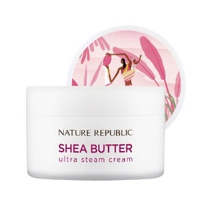 [ネイチャーリパブリック] NATURE REPUBLIC [スチームクリーム 100ml] (Shea Butter Steam Cream 100ml) (01 Ultra Steam...