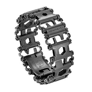 LEATHERMAN(レザーマン) Steel Tread Bracelet Multitool - Black [並行輸入品]