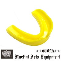 COBRA 薄型マウスピース(ケース付き) MOUTH GUARD YELLOW