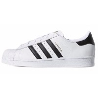 ADIDAS アディダス スニーカー WOMEN'S SNEAKER SUPERSTAR WHITE/BLACK/WHITE US6 (23㎝) [並行輸入品]