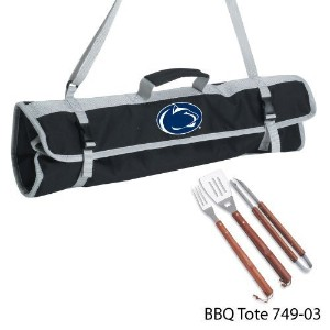 NCAA Penn State Nittany Lions 3-Piece BBQ Tool Set With Tote [並行輸入品]