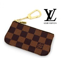 LOUIS VUITTON  ルイ ヴィトン ダミエ ポシェット・クレ キーリング付コインケース N62658【送料無料】【05P03Dec16】