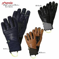 PHENIX 〔フェニックス スキーグローブ〕 2018 Mush Leather Gloves PA778GL05〔Sale〕