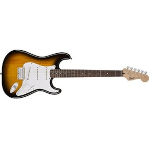 Squier by Fender スクワイヤー エレキギター Bullet Strat  HT,Brown Sunburst