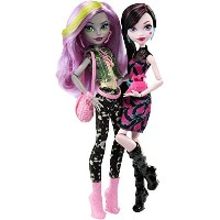 Monster High モンスターハイ Welcome to Monster High モンスターハイ Monstrous Rivals 2-Pk Dolls [並行輸入品]