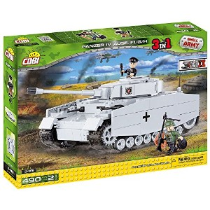 Cobi Small Army ミリタリーブロック WWII 第二次世界大戦 ドイツ軍 パンツァー IV号 中戦車 Pzkpfw IV Ausf.F1/G/H # 2481 【COBI...