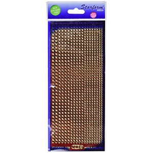 Glitter Dots Assorti Peel-Off Stickers-Red (並行輸入品)