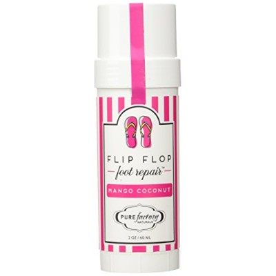 Flip Flop Foot Repair by PURE Factory - Mango Coconut 2 oz. Moisturizer Feet by PURE Factory...