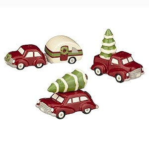 Grasslands Road Pinewood Holiday Travel Salt & Pepper Shakers S 471432