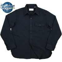 "BUZZ RICKSON'S(バズリクソンズ) CHIEF PETTY OFFICERS, BLUE FLANNEL SHIRTS Type C.P.O. SHIRT ""NAVAL CLOTHING..."