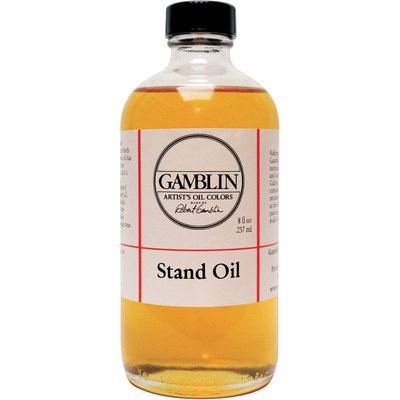 Gamblin Stand Linseed Oil 8 Oz (G08008) by 3M