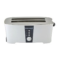 Black & Decker ET124 1350W 4-Slice Toaster (Non-USA Compliant), White by Black & Decker [並行輸入品]