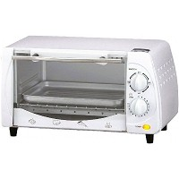 Brentwood 4 Slice Toaster Oven, TS-345W, White [並行輸入品]