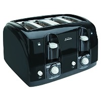 Sunbeam 3911 4-Slice Wide Slot Toaster, Black [並行輸入品]