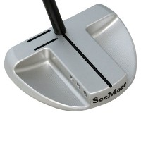 SeeMore SB1 Broomstick Platinum Center Shaft Long Putters【ゴルフ ゴルフクラブ>パター】