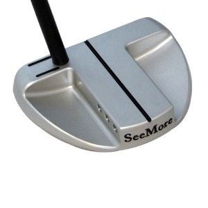 SeeMore SB1 Broomstick Platinum Heel Shaft Long Putters【ゴルフ ゴルフクラブ>パター】