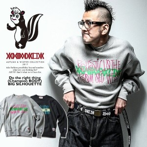 2017 A/W 先行予約 11月~12月入荷予定 アニマリア ANIMALIA Do the right thing(champion BODY BIG SILHOUETTE) animalia...